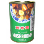 Golden Diamond Po Ku Mushrooms (Whole) 284g 整香菇