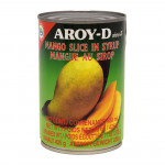 Aroy-D Mango Slice In Syrup 425g / 泰国糖水芒果罐头 425g