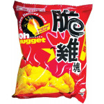 SHL Oh Nugget Chicken Flavoured Snack Original 65g / 时兴隆 脆鸡块薯片 65克