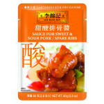 Lee Kum Kee Sauce For Sweet & Sour Pork/ Spare Ribs 80g / 李锦记酸甜排骨酱 80克