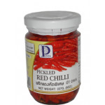 Penta Pickled Red Bird Chilli 227g