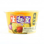 SSF Noodle King Abalone Thick 82g (Bowl) 生麵皇鲍鱼清鷄湯味粗