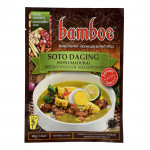 Bamboe Bumbu Soto Daging (Instant Spices For Beef Soto Soup) 40g