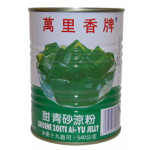 Mong Lee Shang Canned Green Ai Yu Jelly 540g / 万里香甜青砂凉粉 540克