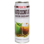 Foco Roasted Coconut Juice 520ml / 福口烤椰子汁 520ml