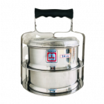 Meat Ball Food Carrier Set 2 Piece Stacking ( Stainless steel) / 双层不锈钢食盒