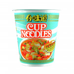 Nissin Cup Instant Noodle Spicy Seafood 75gr / 合味道香辣海鲜味杯麵 75克