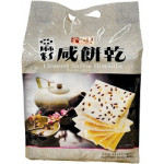 Yummy House Linseed Saline Biscuits 400g美味棧亚麻籽咸饼干