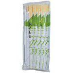 Bamboo Chopsticks Japan with Bamboo Decor 20-pair竹筷子