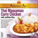 CP Thai Massaman Curry Chicken with Jasmine Rice 350g 泰国即吃马沙文咖哩鸡饭
