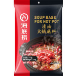 Lao Pai Soup Base For Hot Pot Spicy Flavor 220g 海底捞清油火锅底料