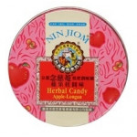 Nin Jiom Herbal Candy Apple Longan Flavour 60g / 京都念慈庵 苹果味润喉糖 60克