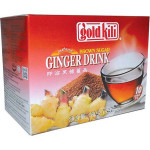 Gold Kili Instant Brown Sugar Ginger Drink 10x18g / 金麒麟 即溶黑糖姜晶