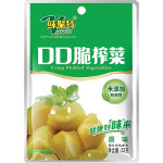 Weijute Crisp Pickled Vegetables 53g 味聚特口口脆榨菜