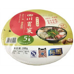 Yumei Instant Sichuan Hot Pot with Vegetable and Fungus (with sweetener) 288g / 与美牌 菌菇豚骨冒菜方便火锅(盒装)