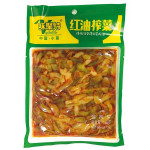Weijute Pickled Vegetables With Chilli Oil 138g