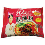 GUANG YOU Instant Vermicelli Hot & Sour Flav. 105g / 光友无明矾方便粉丝袋装-酸辣粉口味 105g
