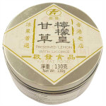 Kai Fat Preserved Lemon with Licorice(with sugar and sweetener) 130g / 甘草柠檬皇