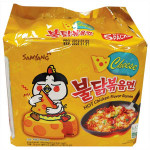 Samyang Hot Chicken Ramen Cheese Flav. 140gX5packs  700g / 三养芝士火鸡面 140gX5包  700g