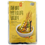 YUMEI Seasoning Sauce Boboji Green Sichuan Pepper 216g / 与美藤椒钵钵鸡调料 216g