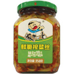 Fan Sao Guang Preserved Mustard Strips 350g  / 饭扫光鲜脆榨菜丝 350g