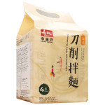 SSF Taiwan Style Sliced Noodles Pepper&Sesame 4x96g / 寿桃牌 方便刀削面 胡椒芝麻味 4x96g
