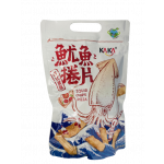 Ka Ka Squid Chips Pizza Flav. 80g / 意式披萨鱿鱼卷片 80g