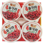 Yummy House Red Bean Guiling Gao Herbal Jelly 4x100g / 美味栈 红豆龟苓膏 4x100克