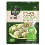 CJ Steamed Dumplings Chicken & Coriander 560g / CJ 韩国香菜鸡肉小包子 560g