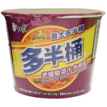 BAIXIANG Instant Bowl Noodles w. Beef & Vegetable Flav 154g / 白象 老坛酸菜牛肉味碗面