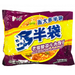 Baixiang Instant Noodles W. Beef & Vegetable Flav. 152g / 白象 老坛酸菜面 152克