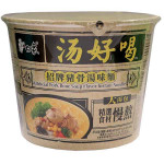 BAIXIANG Instant Bowl Noodles with Pork Soup Flav. 108g / 白象 汤好喝系列 招牌猪骨汤味碗面