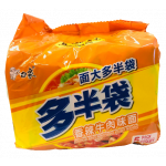 Baixiang Instant Noodles With Spicy Beef Flav. 5x138g / 白象 香辣牛肉面 5袋装