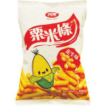 FOUR SEAS Corn Snack Peanut Flav. 85g / 四洲 粟米条 花生味