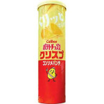 Calbee Chips Consomme Flav. 115g / 卡乐比 桶装淡甜味薯片 115克