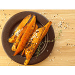 Asian-Style BBQ Roasted Sweet Potatoes