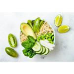 Macro Bowl With Bean Sprouts And Tahini Dressing
