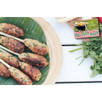 Vietnamese Chicken Skewers With Lemongrass
