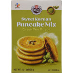 CJ Beksul Sweet Pancake Mix Green Tea 400g / 韩国绿茶煎饼粉 400克