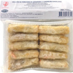 Cock Brand Frozen Shrimp and Crab Spring Roll 500g / 急冻虾蟹春卷 500克