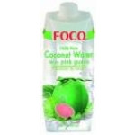 Foco Coconut Water With Pink Guava 福口 番石榴椰水500ml