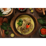 Gulai Kambing: Indonesian Curry Soup With Mutton
