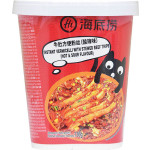 Hi Instant Vermicelli with Stewed Beef Tripe Hot & Sour Flavour 136g / 海底捞牛肚方便粉丝酸辣味 136克