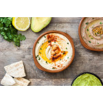 Hummus: Middle-Eastern Chickpeas Spread