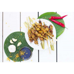 Indonesian Chicken Satay Skewers