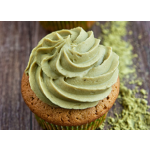 Matcha Cupcake With Matcha Cream Cheese Cream