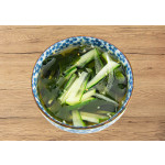 Oi Naengguk: Korean Cold Soup with Seaweed and Cucumber