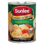 Sunlee Tropical Fruit Salad In Light Syrup 565g