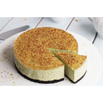 Matcha Cheesecake With Osmanthus Flower
