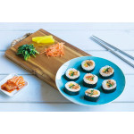 Gimbap: Korean Rice Rolls
